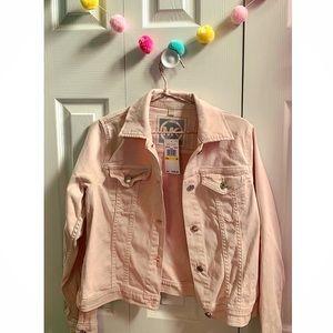Michael Kors Pink Denim Jacket ✨